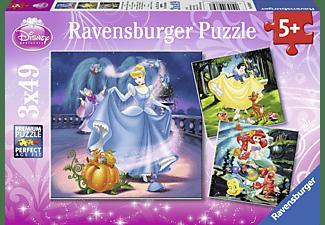 RAVENSBURGER Schneewittchen, Aschenputtel, Arielle Puzzle Mehrfarbig