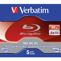 VERBATIM 43760 BD-RE DUAL 50GB Rohling