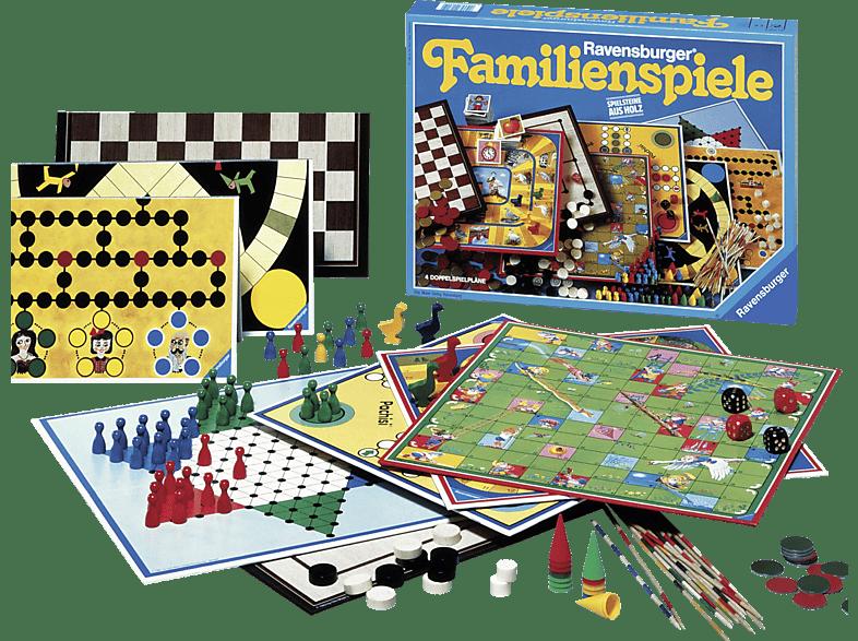 RAVENSBURGER 13159 Ravensburger Familienspiele, Mehrfarbig