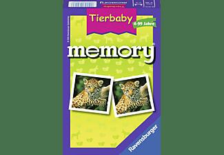 RAVENSBURGER Tierbaby memory Mitbringspiel Mehrfarbig