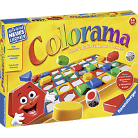 RAVENSBURGER 249213 Colorama Gesellschaftsspiel, Mehrfarbig