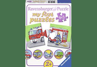 RAVENSBURGER Kinderpuzzle - Einsatzfahrzeuge Puzzle Mehrfarbig
