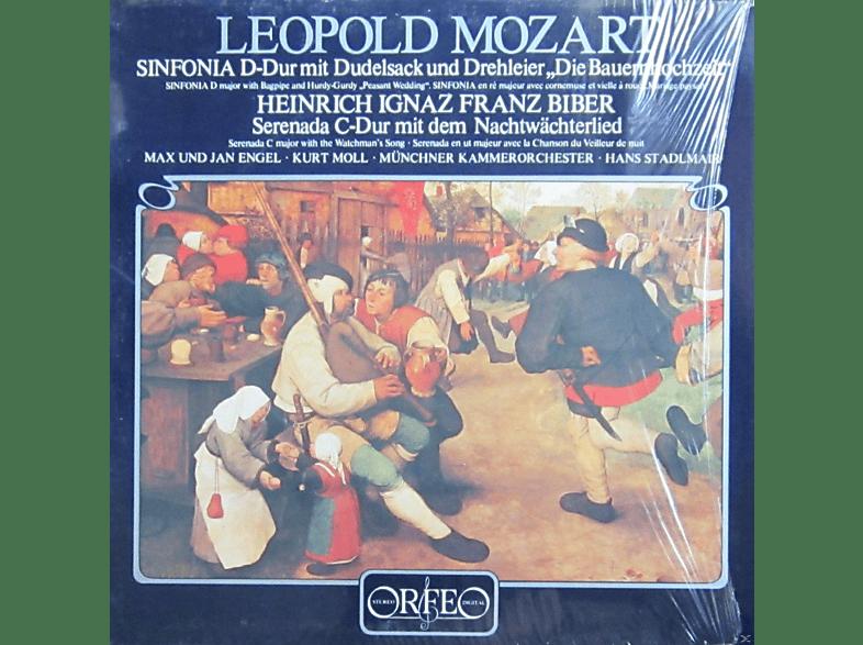 Kurt Moll, Jan Engel, Max Engel, Münchener Kammerorchester - SINFONIA MIT DUDELSACK U.DREHLEIER/SERENATA C-DUR [Vinyl]