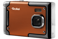 ROLLEI Sportsline 85 Digitalkamera Orange, 8 Megapixel, TFT-Display