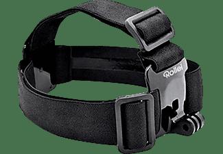 ROLLEI 21639 Outdoor, Zubehörset, Schwarz, passend für Rollei Actioncams und GoPro