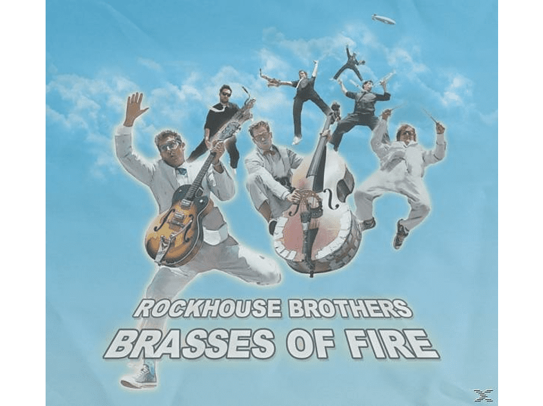 Rockhouse Brothers - Brasses of fire [CD]