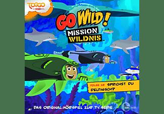 Go Wild!-Mission Wildnis - Go Wild! Mission Wildnis: Sprichst du Delfinisch?  - (CD)