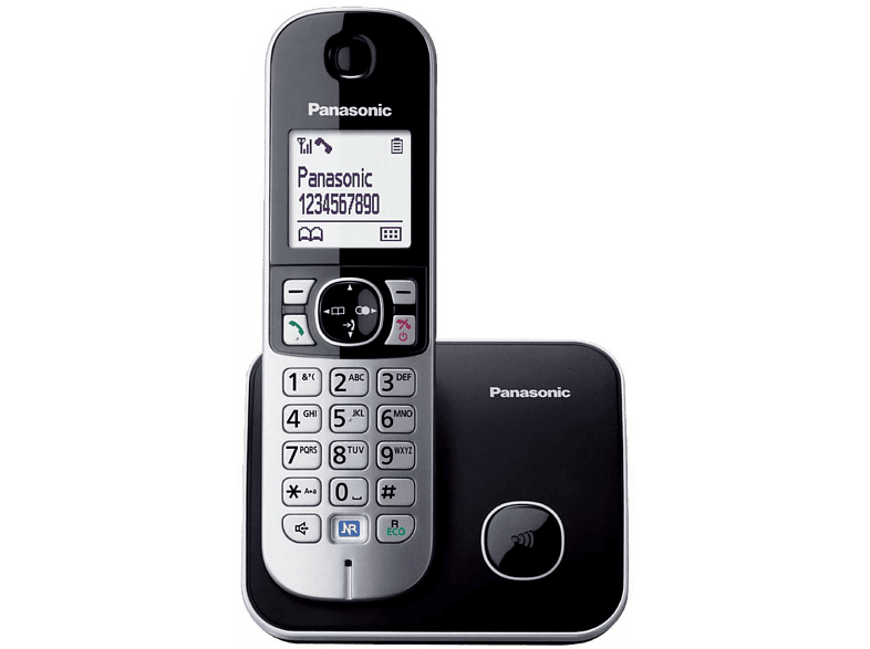 PANASONIC Téléphone sans fil KX-TG6811BLB Mono