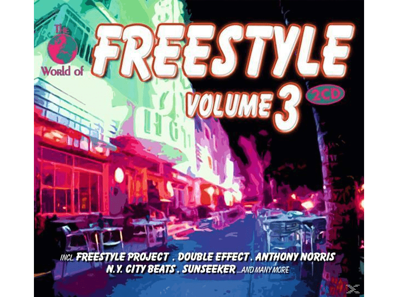 VARIOUS - Freestyle Vol. 3 [CD]
