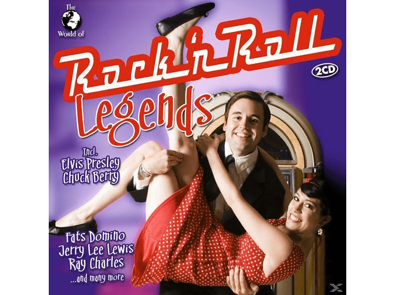 VARIOUS - W.O.Rock'n Roll Legends [CD]