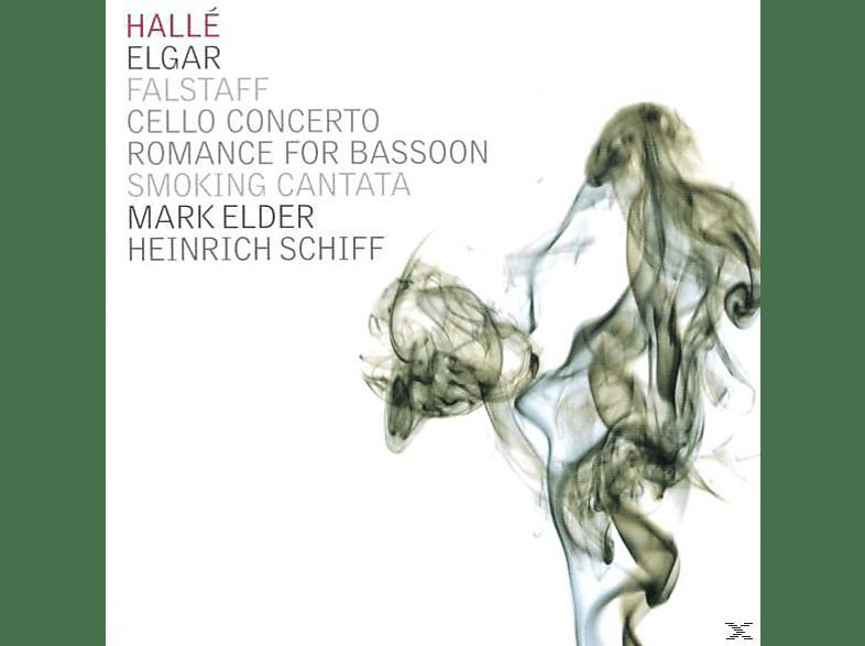 Elder, Schiff/Elder/Halle Orchestra - Elgar:Falstaff/Cello Conc. [CD]