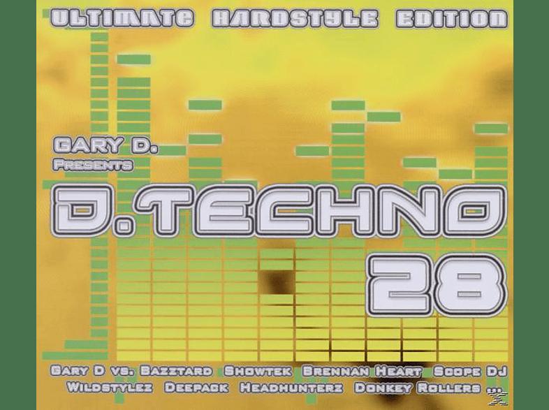 VARIOUS - D.Techno 28 [CD]