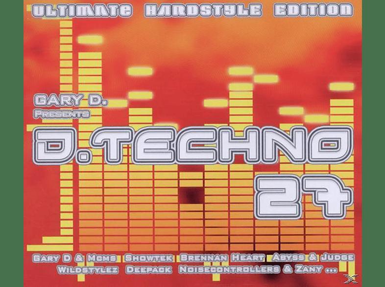 VARIOUS - D. Techno 27[Box-Set] [CD]