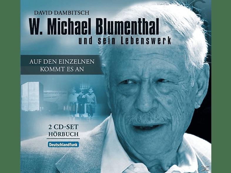 Blumenthal,W.Michael/Dambitsch,David - W.M.Blumenthal: Auf Den Einzelnen Kommt Es An - (CD)