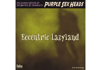 Purple Sex Heads - Eccentric Lazyland - (CD)