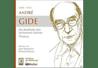 Westphal,Gert/Münch,Richard - Gide: Die Rückkehr des verlorenen Sohnes-Theseus  - (CD)