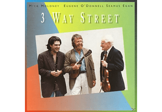 Mick Moloney, Eugene O'donell, Seamus Egan - THREE WAY STREET  - (CD)