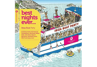 VARIOUS - Best nights ever-boat party  - (CD)