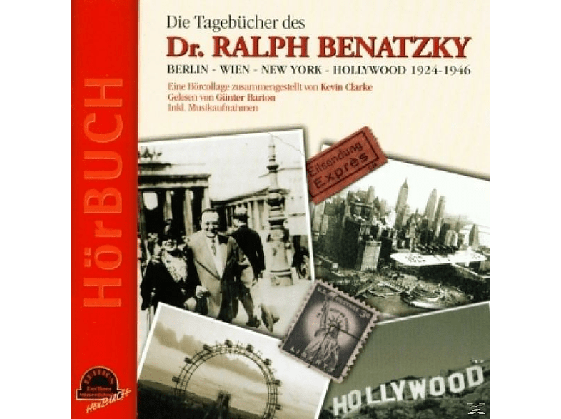 Günter Barton - Die Tagebücher D.Dr.BenatzkyBERLIN-WIEN-NEW YORK-HOLLYWOOD - (CD)