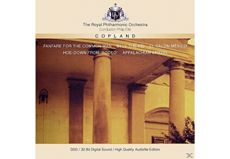 Aaron Copland - Fanfare For The Common  - (CD)