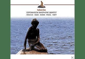 Copenhagen Saxophone Quartet - Saxophon Quartette (Singelee/Bozza/Dubois/Pascal)  - (CD)