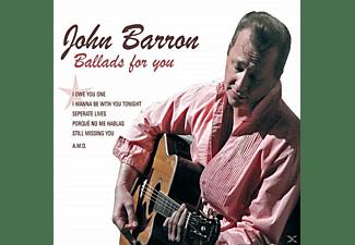 John Barron - Ballads For You  - (CD)