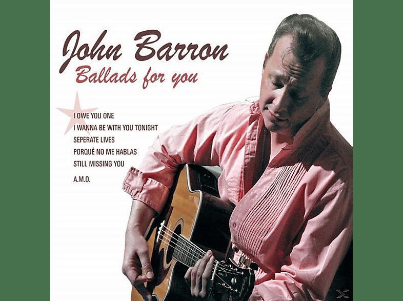 John Barron - Ballads For You [CD]