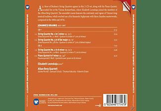 Elisabeth Leonskaja, Alban Berg Quartet - Streichquartette op.57 & 61/Klavierquintett  - (CD)