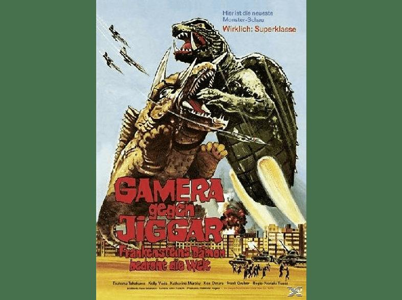 Gamera gegen Jiggar - Frankensteins Dämon bedroht die Welt [DVD]