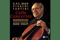 The Saint Paul Chamber Orchestra, Mstislav Rostropovich, Hugh Wolff - Cellokonzerte [CD]