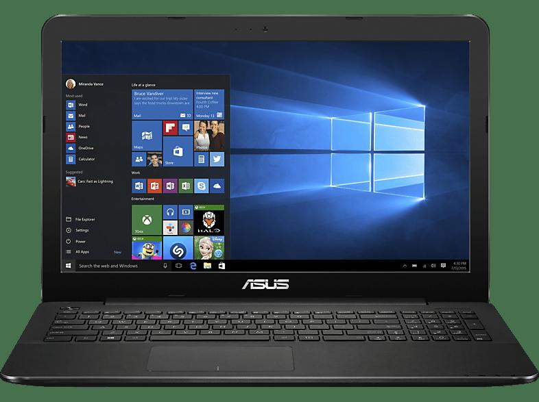 ASUS R557LA-XX2663T, Notebook mit 15.6 Zoll Display, Core i3 Prozessor, 4 GB RAM, 1 TB, Intel HD Grafik, Schwarz