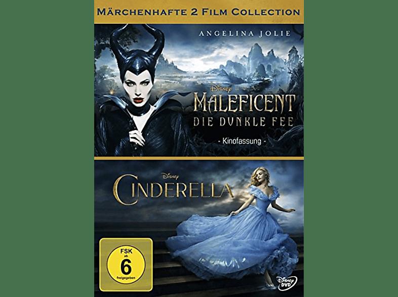 Maleficent - Die dunkle Fee/Cinderella (Doppelpack) [DVD]
