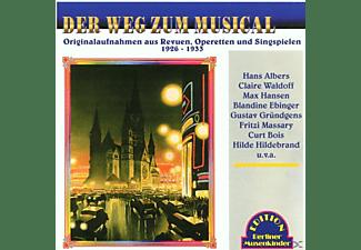 VARIOUS - Der Weg Zum Musical 1926-1933  - (CD)