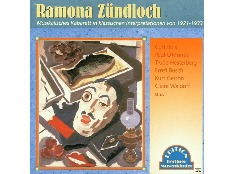 VARIOUS - Ramona Zündloch 1921-1933 [CD]