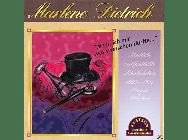 Marlene Dietrich - Wenn Ich Mir Was Wünschen Dürfte [CD]