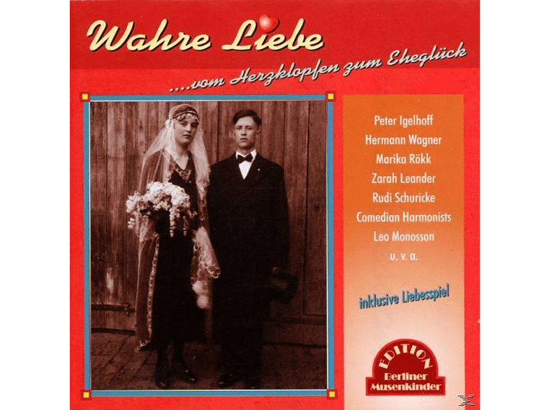 VARIOUS - Wahre Liebe [CD]