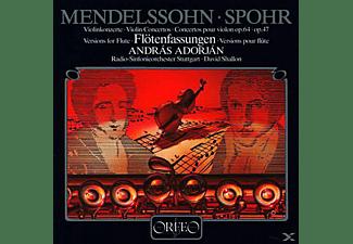 Radio-symphonieorchester Stuttgart, Adorjan Andras - Konzertfassungen für Flöte und Orchester  - (Vinyl)