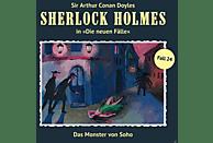 Sherlock Holmes - Das Monster Von Soho (Neue Fälle 24) - (CD)
