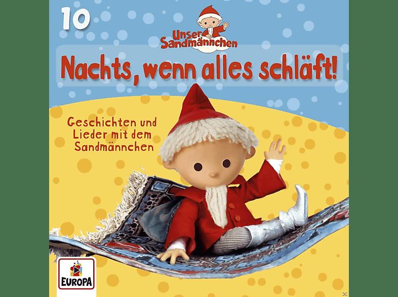 Unser Sandmännchen - 10/Nachts, Wenn Alles Schläft - (CD)