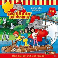 Benjamin Blümchen - Folge 131: Auf Großer Floßfahrt  - (CD)