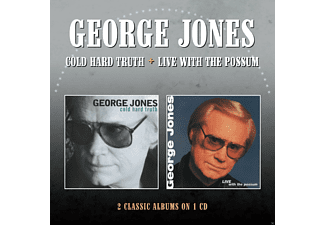 George Jones - Cold Hard Truth / Live With The Possum (CD)