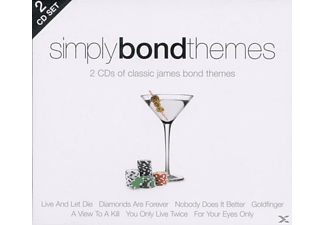 VARIOUS - Simply Bond Themes (2cd)  - (CD)