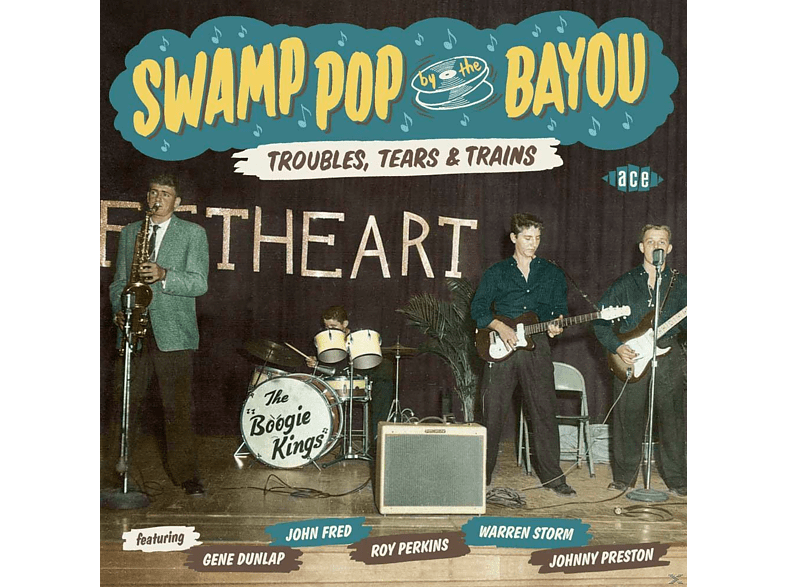 VARIOUS - Swamp Pop By The Bayou-Troubles, Tears & Trains [CD]