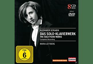 Maria Lettberg - Das Klavierwerk (Ga)  - (CD + DVD Video)