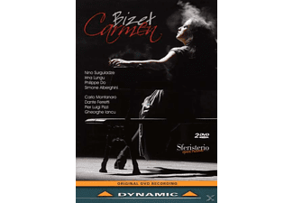 Surguladze, Surguladze/Lungu/Zabala/Gardina/Do/Montanaro/+ - Carmen  - (DVD)