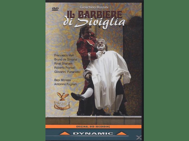 VARIOUS, Meli/de Simone/Shaham/Frontali/Furlanetto/Fogliani - Il Barbiere Di Siviglia [DVD]