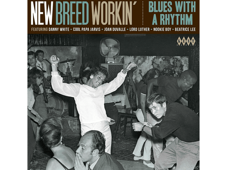 VARIOUS - New Breed Workin-Blues With A Rhythm [CD]