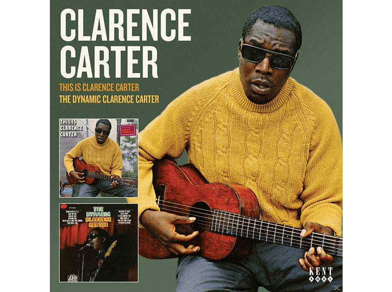 Clarence Carter - This Is Clarence Carter/The Dynamic Clarence Car [CD]