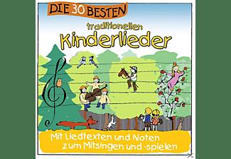 Karsten Glück & Die Kita-Frösche Simone Sommerland - Die 30 Besten Traditionellen Kinderlieder [CD]