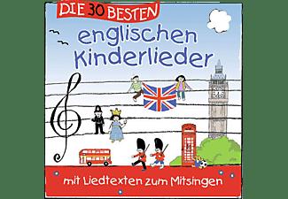 Simone Sommerland, Die Kita Frösche, Karsten Glück - Die 30 Besten Englischen Kinderlieder [CD]